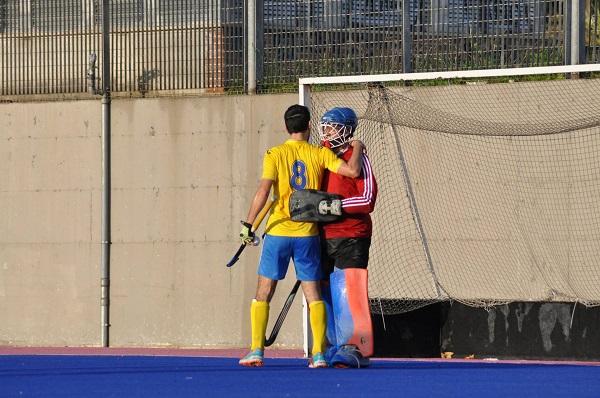 20/11/2016 Tevere EUR/CUS Pisa  gesto sportivo nei confronti portiere avversario